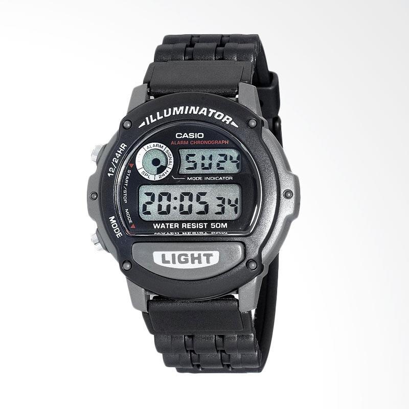 Casio Men's Illuminator Sport Watch Jam Tangan Pria W87H-1V