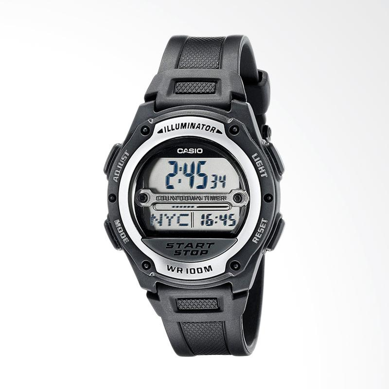 Casio Men's Digital Sport Watch Jam Tangan Pria - Black W756-1AVCR