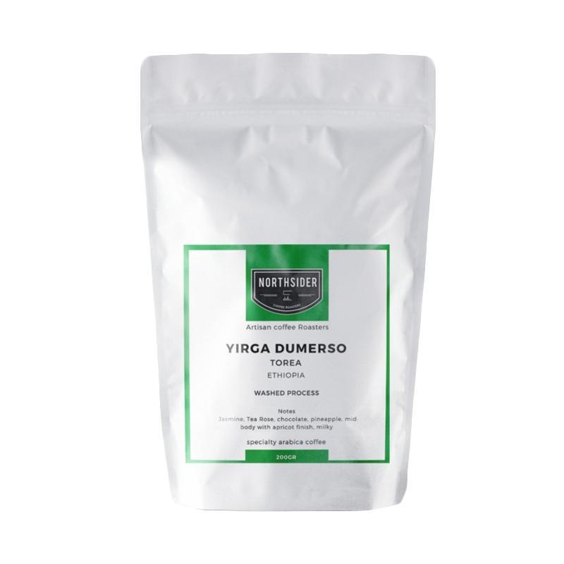 Northsider Dumerso Yirga G1 Specialty Coffee Washed Ethiopia Arabika Kopi [200 g]