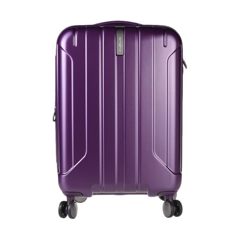 Samsonite SSOAY809300100P57# Niar Spinner 57/20 EXP Tas Koper - Matte Purple