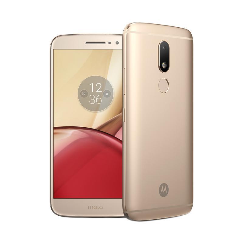 Motorola Moto M XT1663 Smartphone - Gold [32 GB/4 GB]