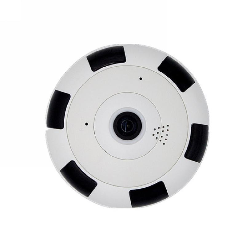 QCF FV-A360B Kamera CCTV IP Camera Wireless Panoramic V380S Fisheye Lens 360 Degree Wifi 960PH 1.3MP - Putih