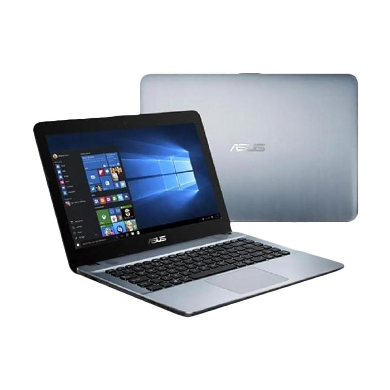 Asus X441NA-PQ402 Notebook - Silver [Pentium Quad Core N4200/4 GB/500 GB/Endless/14 Inch]