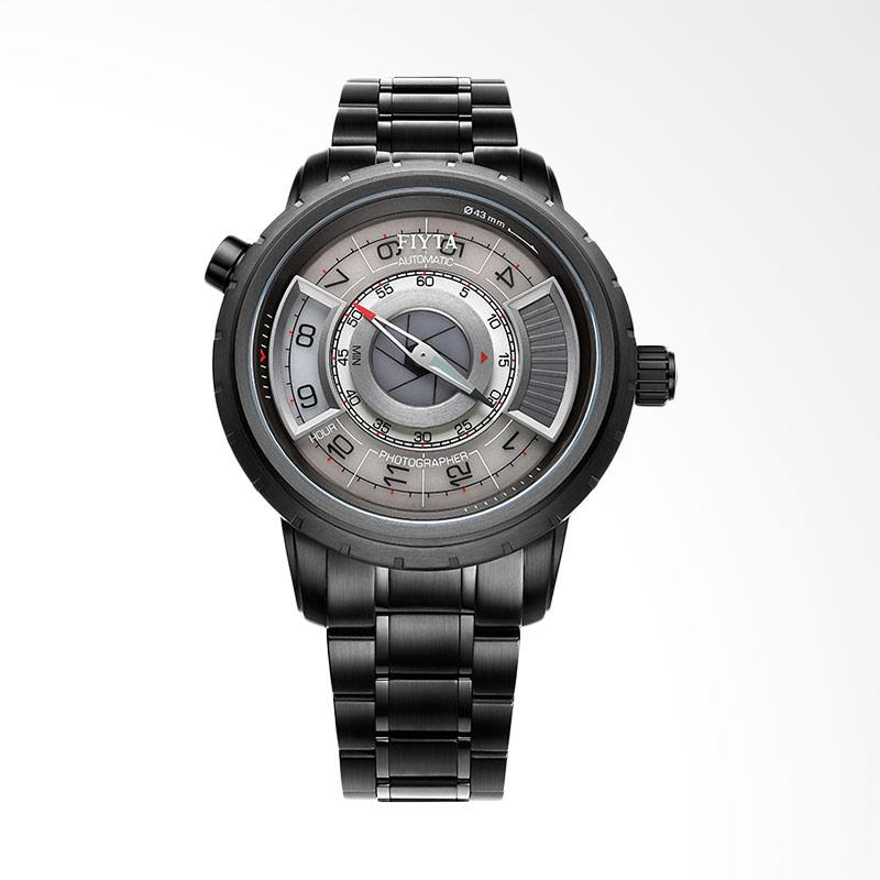 FIYTA Men Photographer GA8490.BBB Jam Tangan Pria - Black