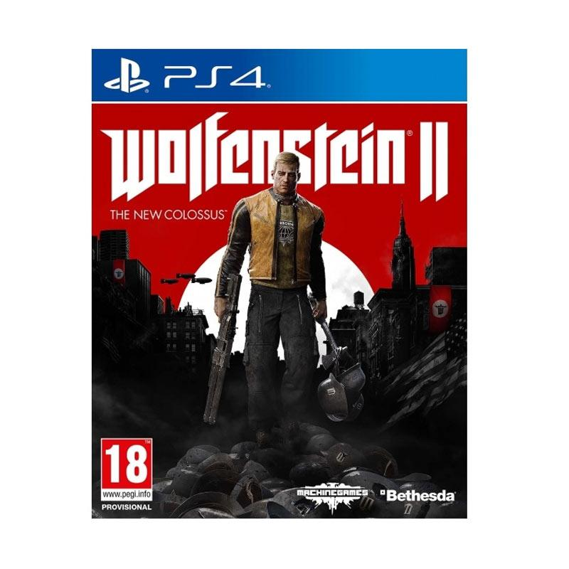 SONY Playstation 4 Wolfenstein II: The New Colossus R3 DVD Game