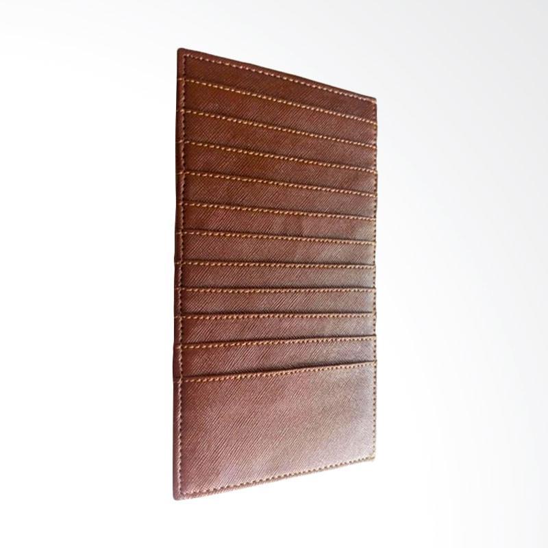 Garuda Shop Card Holder Jumbo Dompet Kartu Nama ATM KTP - Coklat