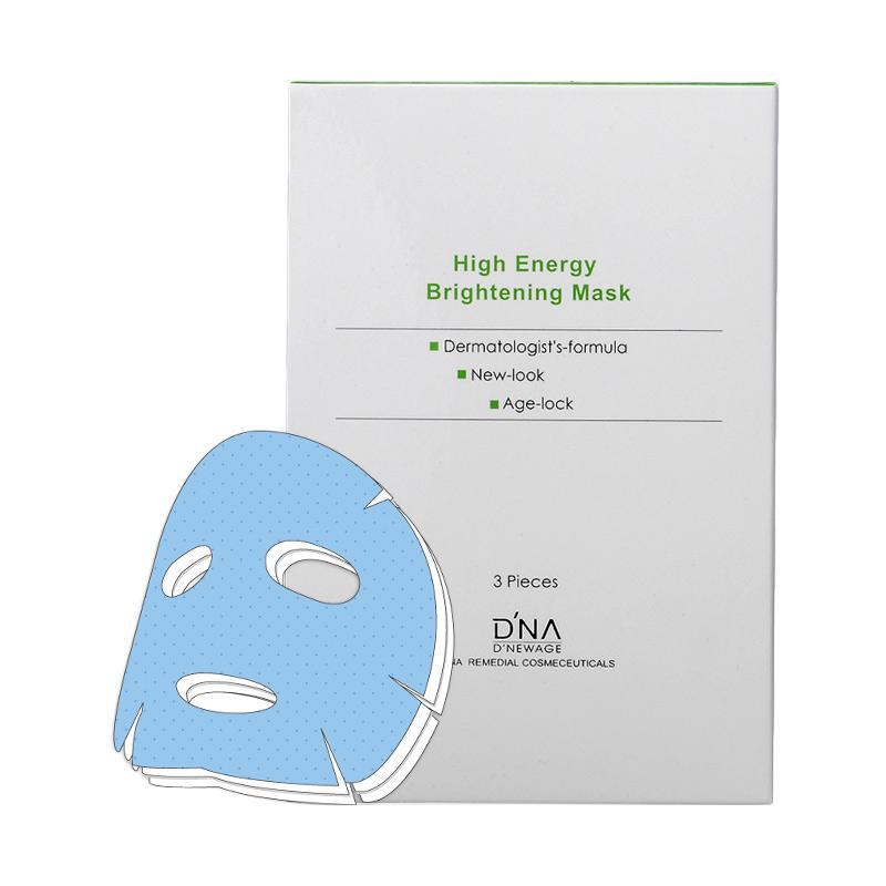 D'NA High Energy Brightening Mask Masker Wajah