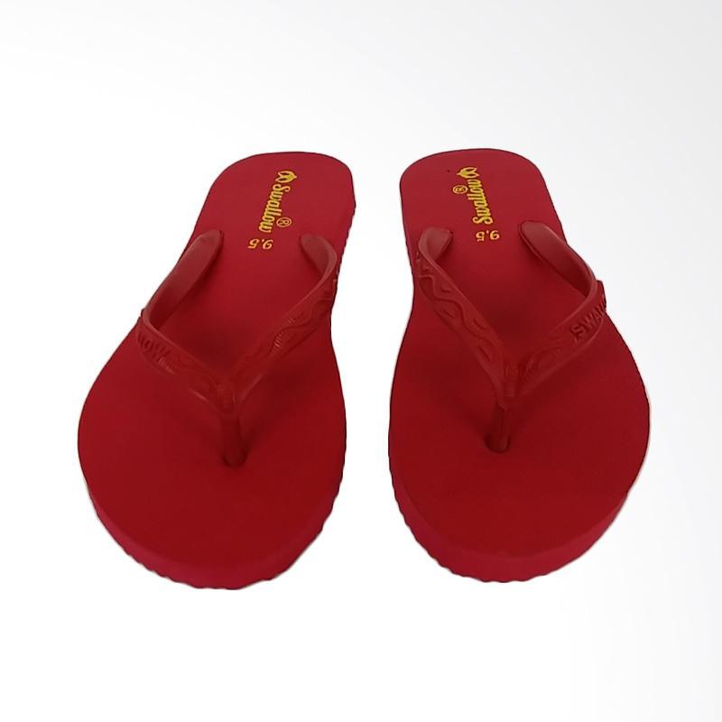 Swallow Nice Sandal Jepit Pria - Red