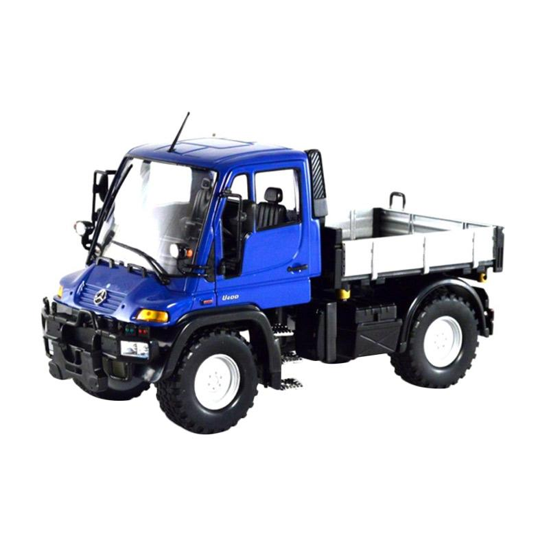 Mercedes Benz Unimog >> Welly Mercedes Benz Unimog U400 Diecast Blue 1 24