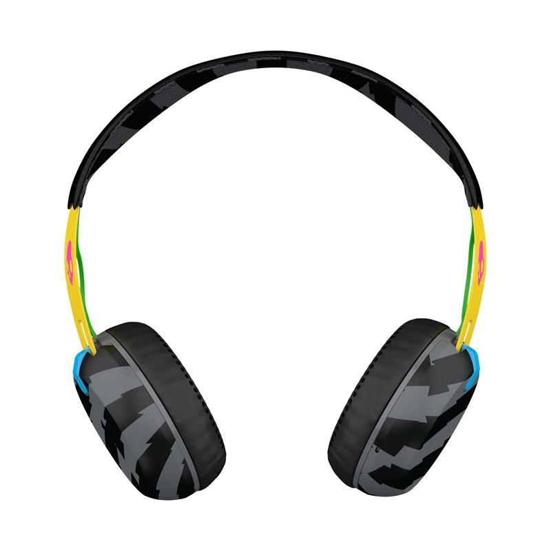 Skullcandy S5GRHT-466 Grind Headset - Hitam Kuning [ 3.5mm]