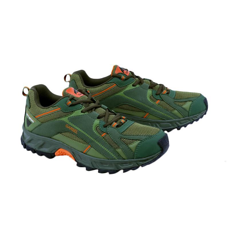 Garsel Running Shoes Sepatu Lari Pria - Hijau Kombinasi GRE 7012