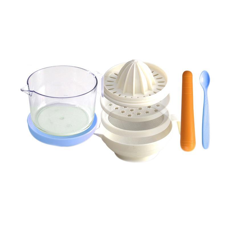 LustyBunny Food Processors Set Peralatan Makan Anak