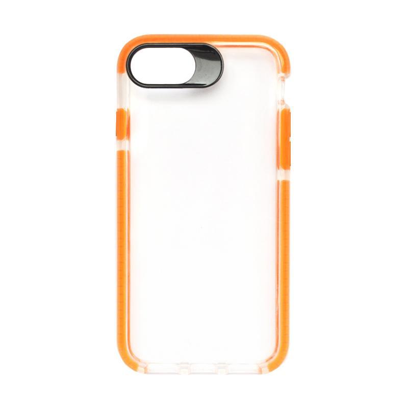 SMILE Big Eye Softcase Casing for iPhone 8 - Orange