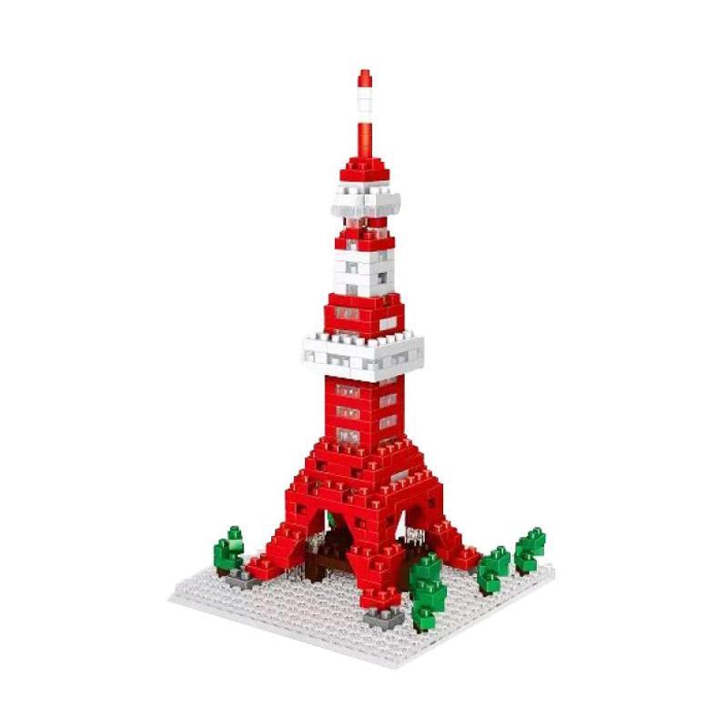 Wisehawk Tokyo Tower 2327 Mainan Blocks