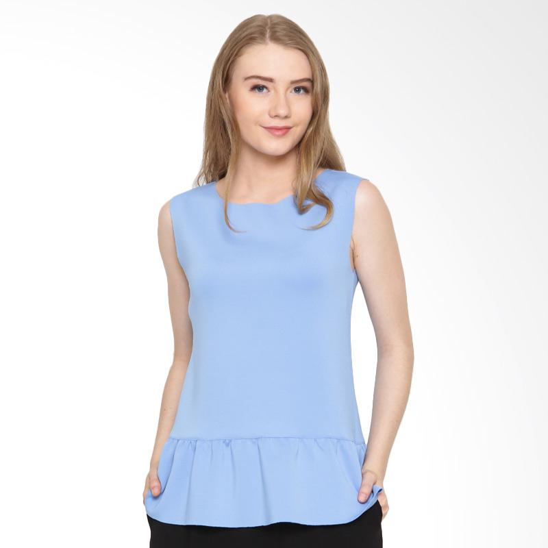 A&D Fashion MS 987 Sleeveless Blouse - Blue