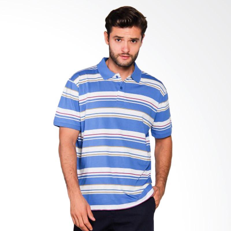 harga Quiksilver Decay Stripe Po M KTTP Solid Polo Shirt Pria - Victoria Blue [UQYKT03163-BQN0] Blibli.com