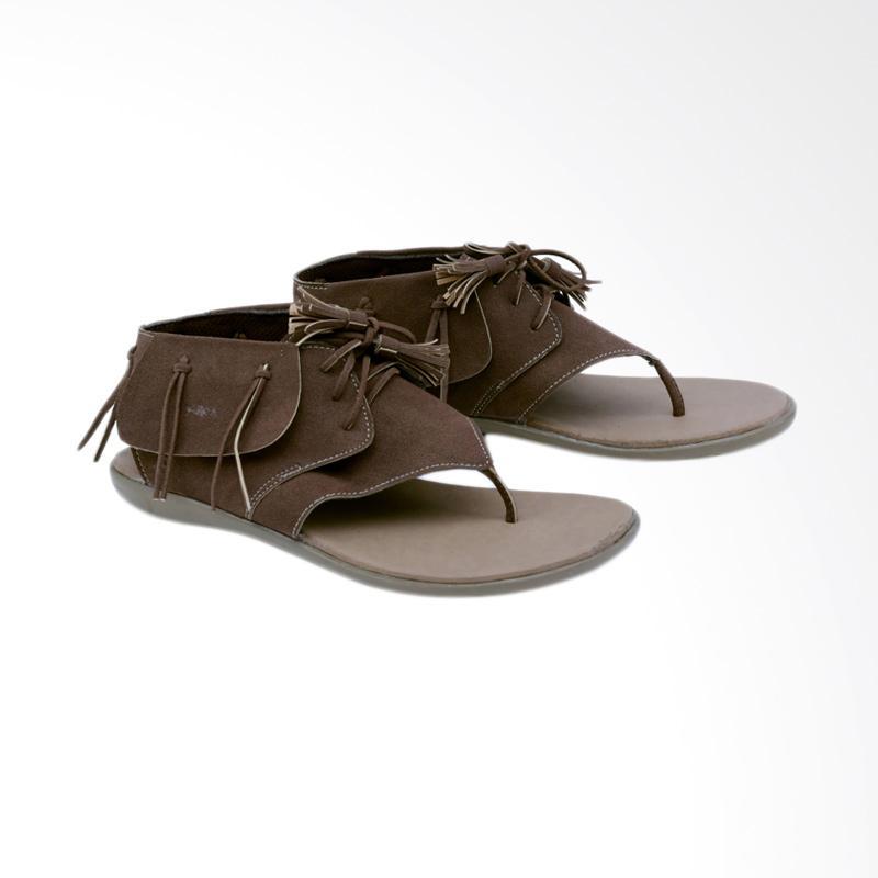 Garsel GAK 8508 Sandal Flats Wanita