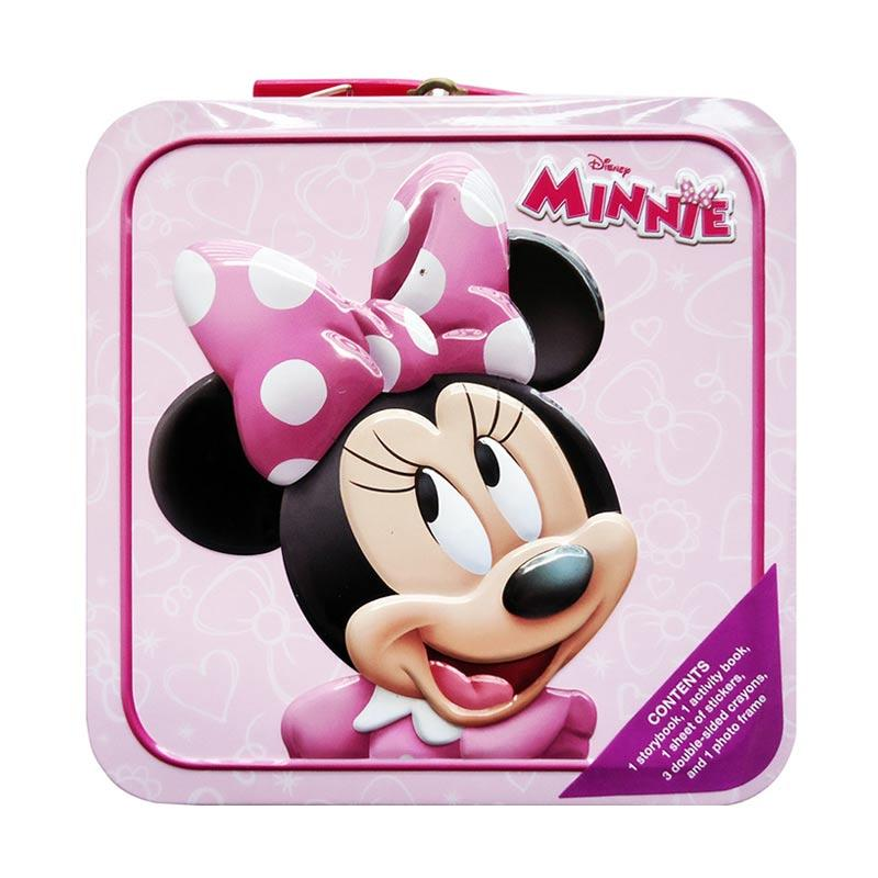 Genius Disney Minnie Tin Buku Anak