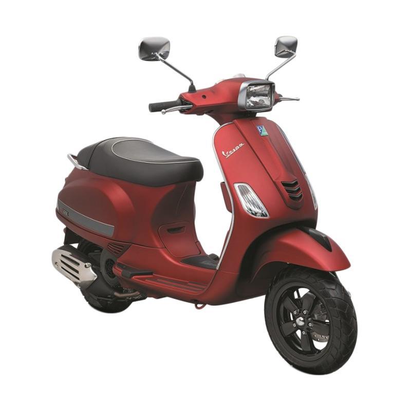 harga Vespa  Piaggio S 125 i-Get Sepeda Motor - Rosso Matt Blibli.com