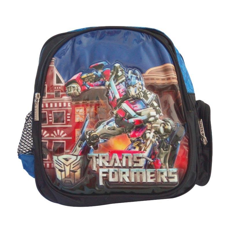 d'Groove bag Transformer Tas Ransel Anak - Biru [Kecil]