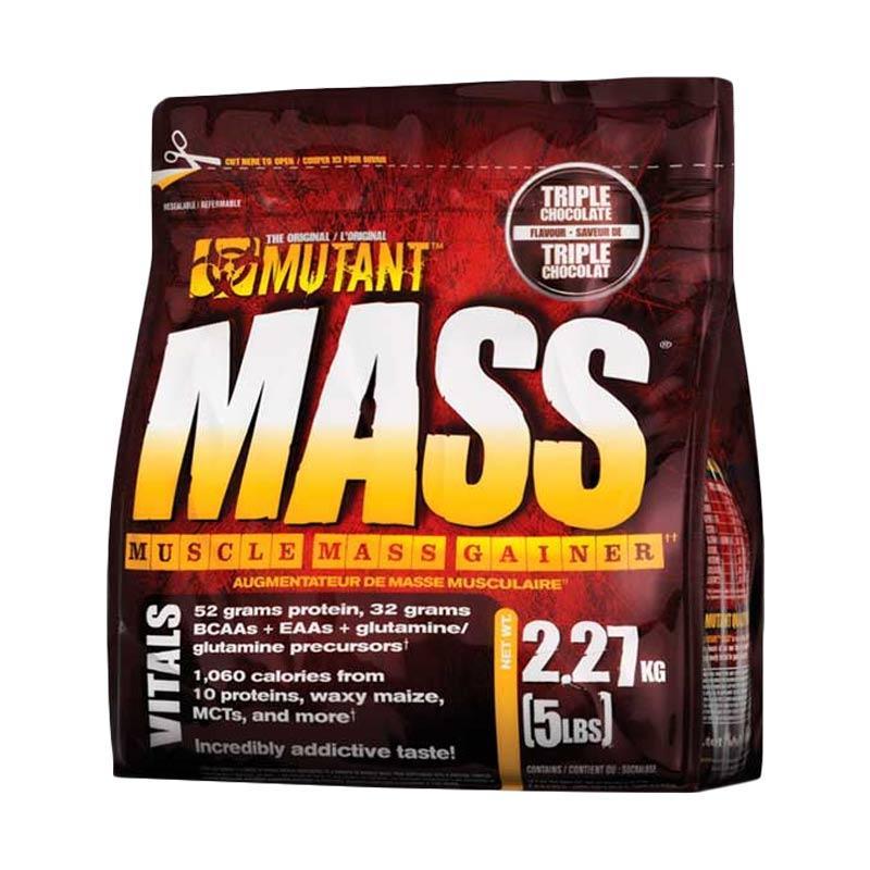 Mutant Mass Suplemen Fitness - Cokelat [5 Lbs]