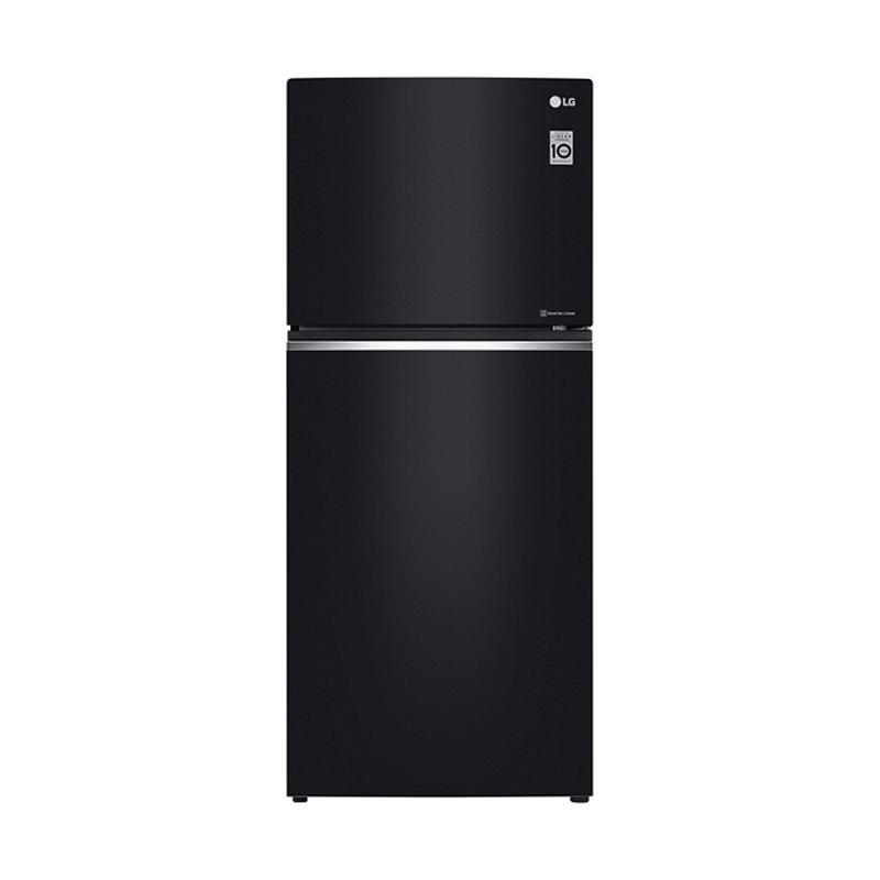harga LG GN-C422SGCN Kulkas 2 Pintu - Black Gloss [416 L/Khusus Jadetabek] Blibli.com