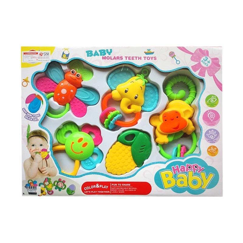 1838b 2 Isi 4 Pcs Mainan Source · Momo Baby Rattle Playset 0878b .
