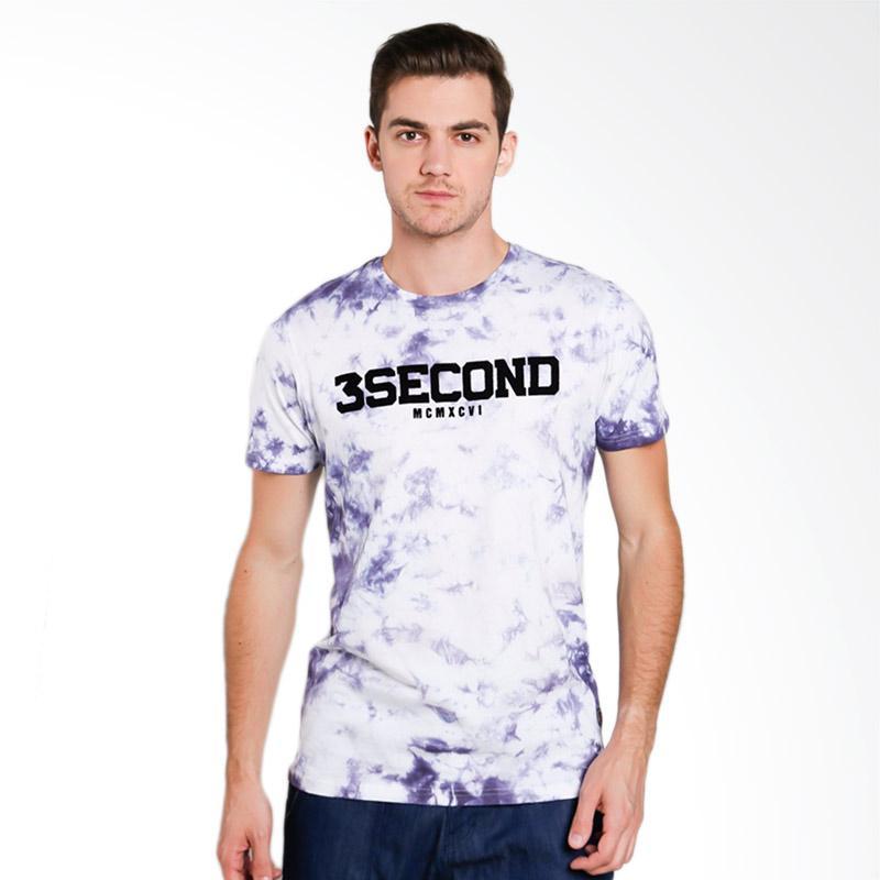 3SECOND 9612 Men T-shirt - Purple [196121712]