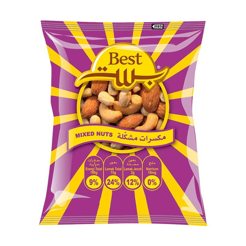 Best Peanuts Mixed Nuts Pouch [50g]