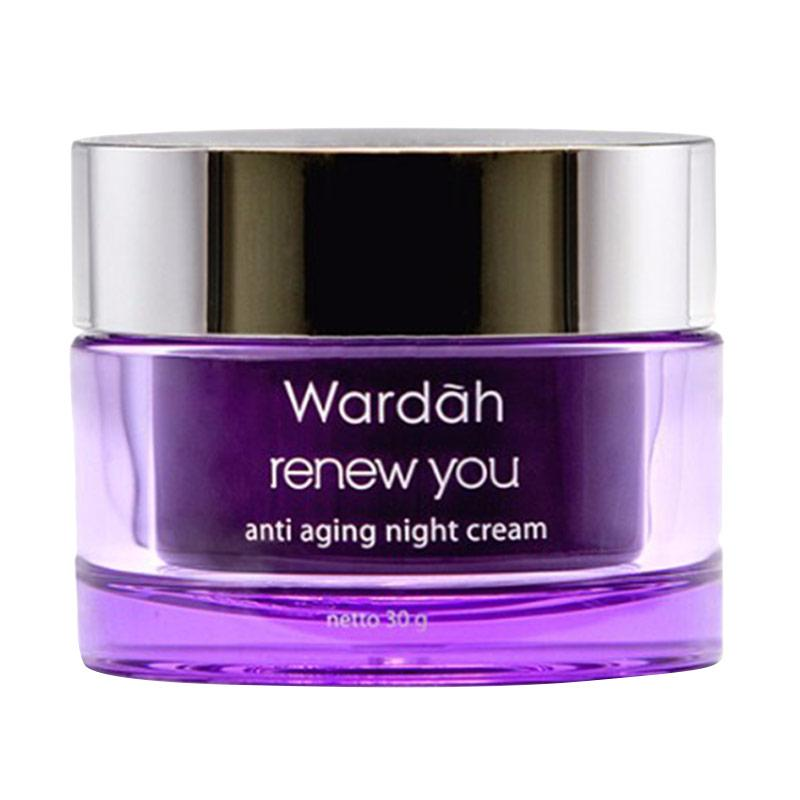 Wardah Renew You Anti Aging Night Cream [30 g]