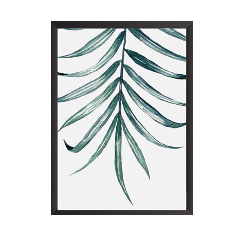 Cadrehome Green Down A4 Dekorasi Dinding