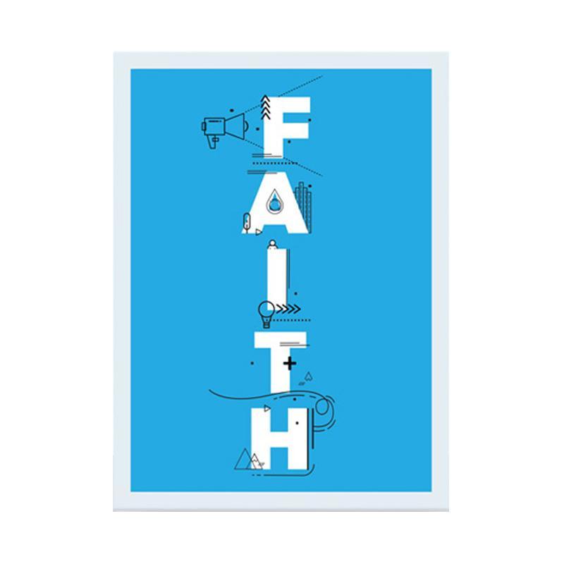 Cadrehome Faith A4 Dekorasi Dinding