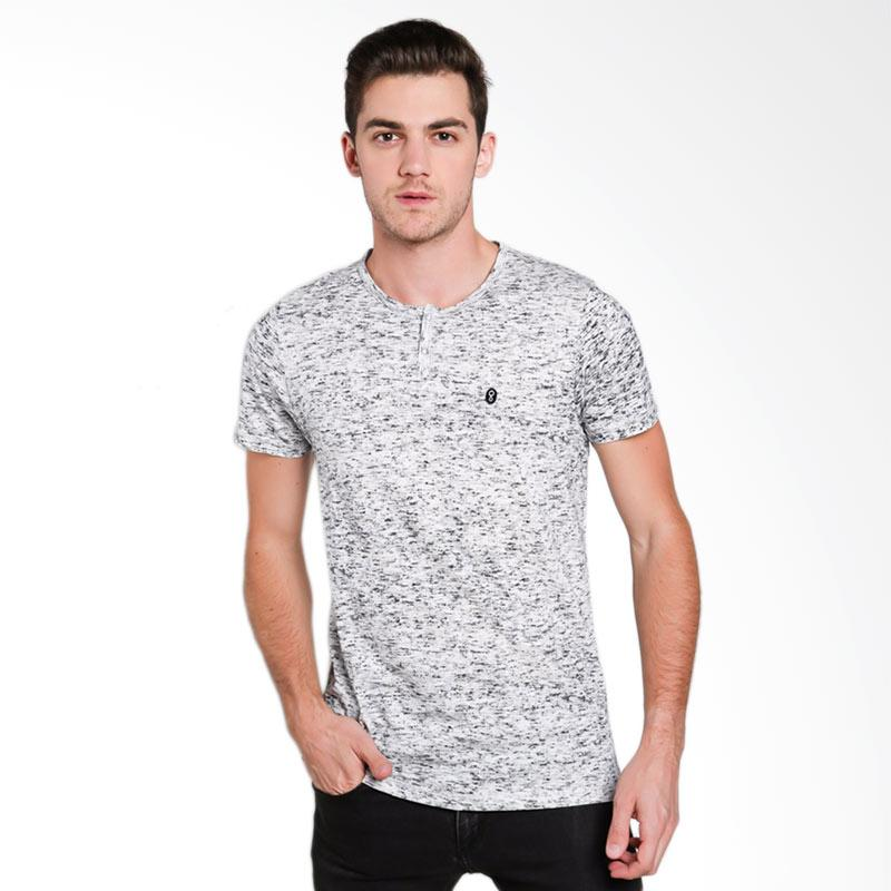 Greenlight Men 5412 T-shirt Pria - White [254121712]