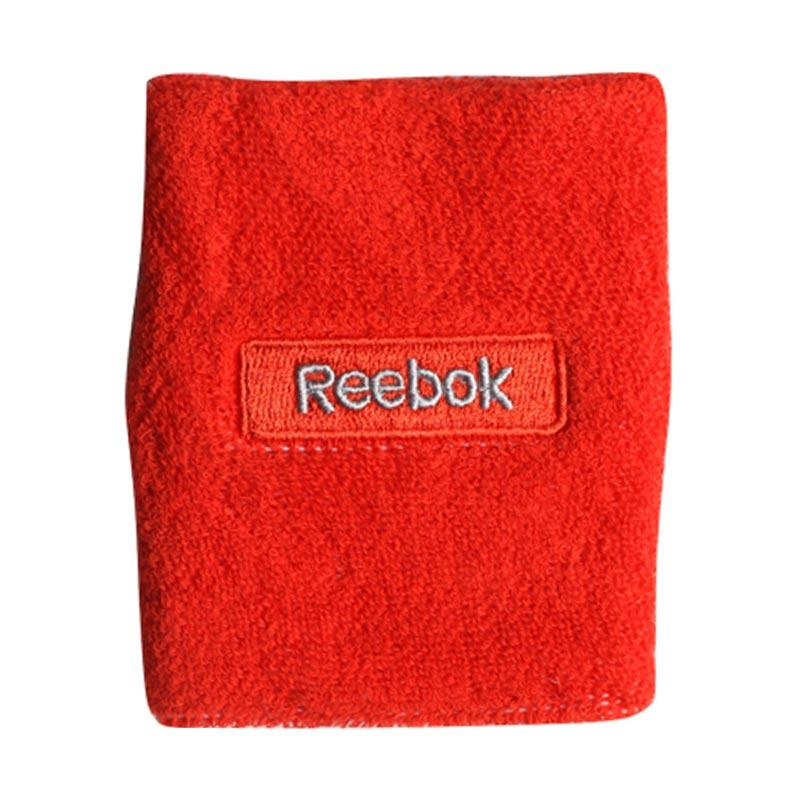 Reebok Embossed Wristband - Riot Red Grey [ W6120]
