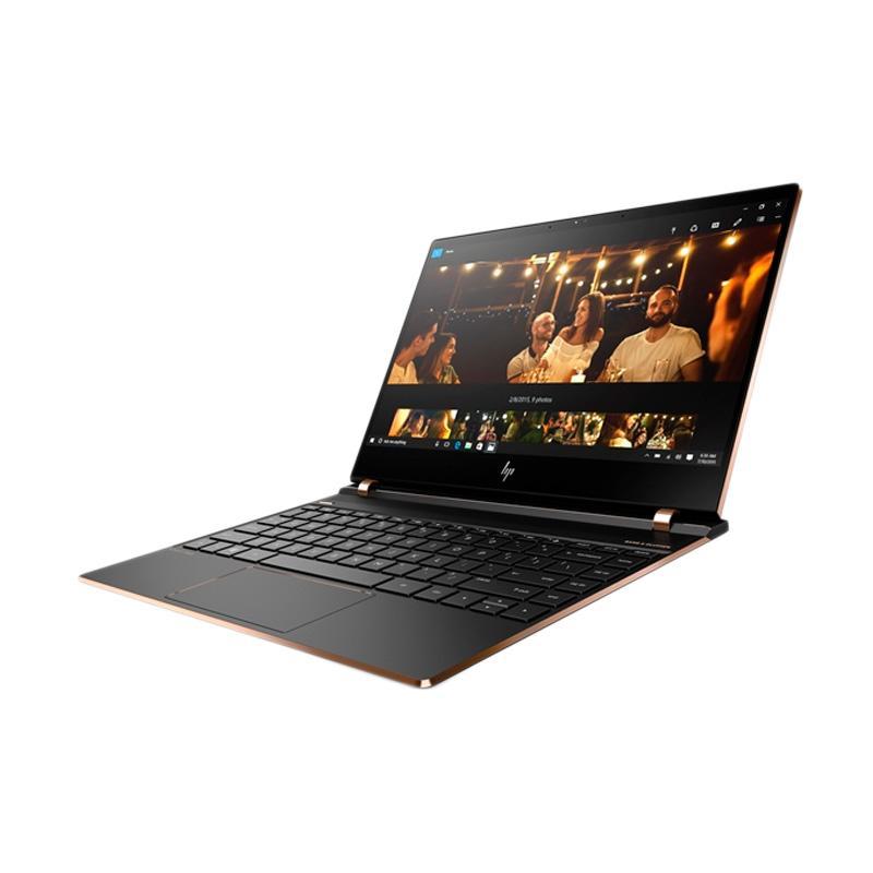 HP SPECTRE 13-AF078TU BLACK GOLD - [Intel Core i7-8550U Quad Core 1.8-4.0GHz/16GB/512GB SSD/Intel HD/13.3