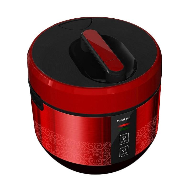 Yong Ma SMC-4023 Rice Cooker - Black Red [2 L]