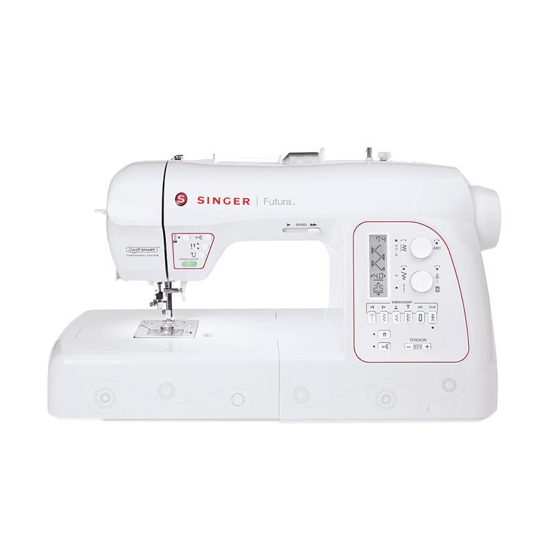 harga SINGER Futura XL580 Mesin Jahit Bordir Komputer Blibli.com