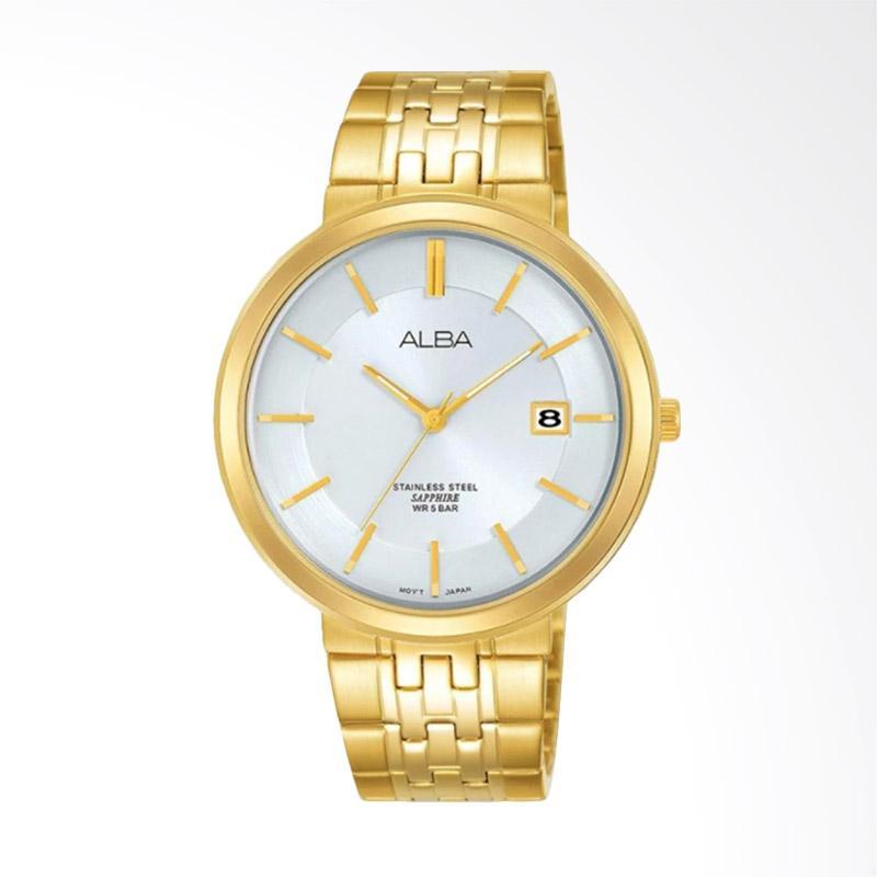 Alba Jam Tangan Pria - Gold [AS9D72X1]