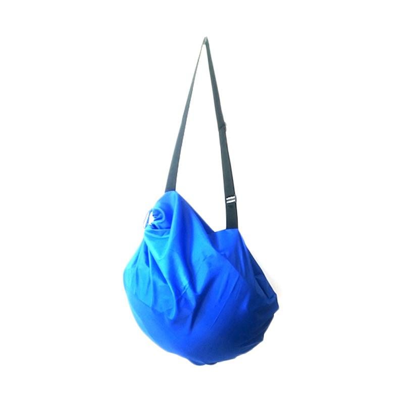 Solidex Serut Anti Air Cover Tas Helm - Biru