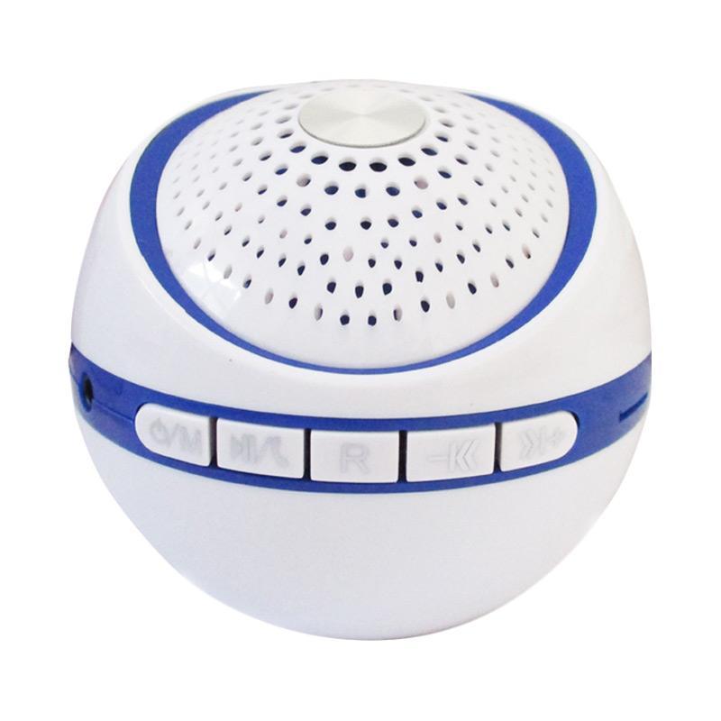 Advance ES030R Mini Portable Support Handsfree Bluetooth Speaker - Putih