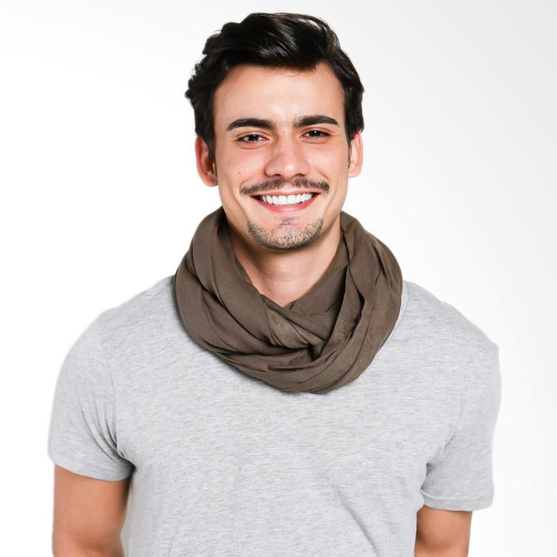 Zcoland Multifunction Infinity Scarf - Coklat