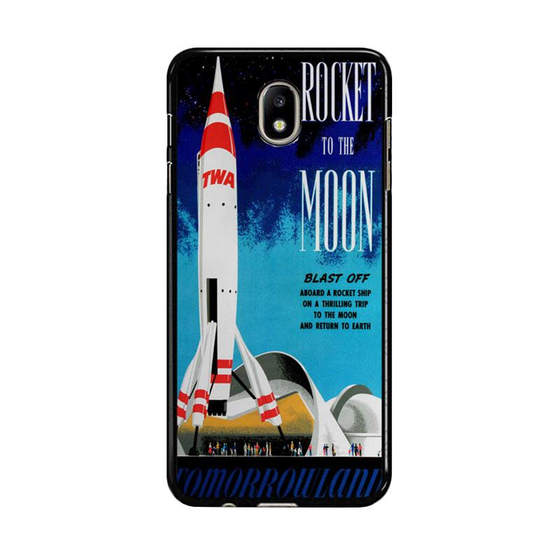 Flazzstore Disney Tomorrowland Rocket To The Moon Z0697 Custom Casing for Samsung Galaxy J5 Pro 2017
