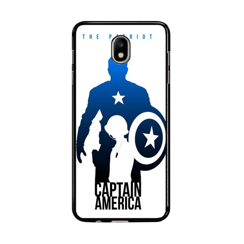 Flazzstore Captain America Avengers Texture Z0716 Custom Casing for Samsung Galaxy J5 Pro 2017