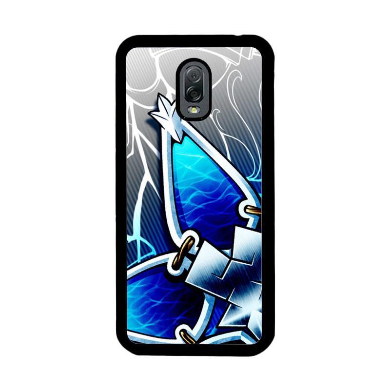 Flazzstore Kingdom Hearts Aqua Wayfinder Z0357 Custom Casing for Samsung Galaxy J7 Plus