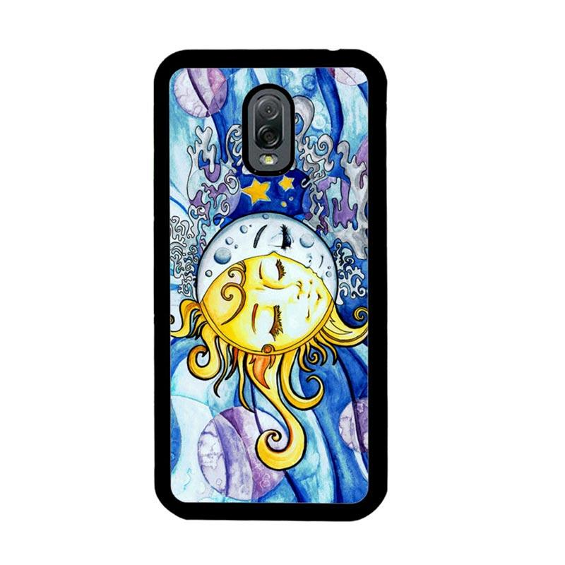 Flazzstore Sun And Moon Z1074 Custom Casing for Samsung Galaxy J7 Plus