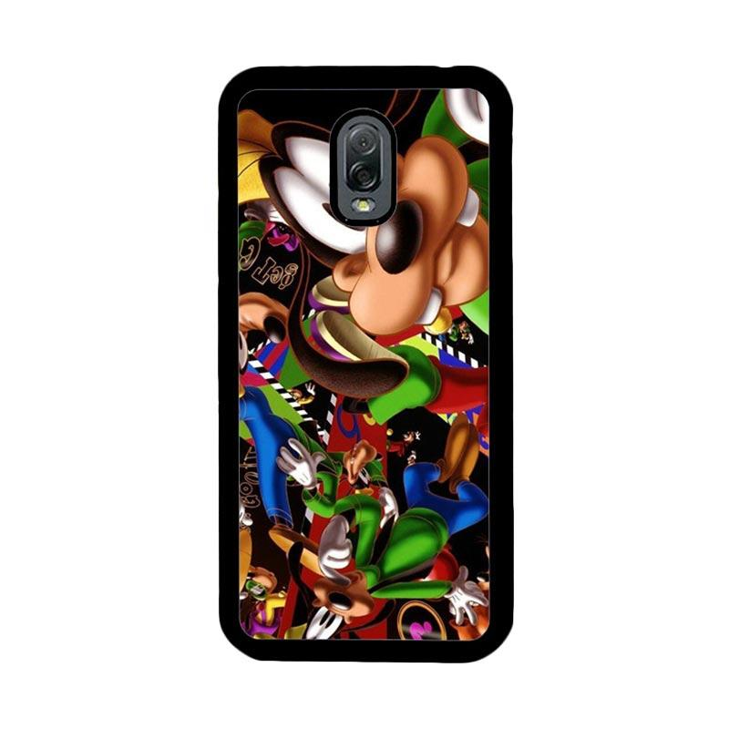 Flazzstore Goofy Disney Collage Z1471 Custom Casing for Samsung Galaxy J7 Plus