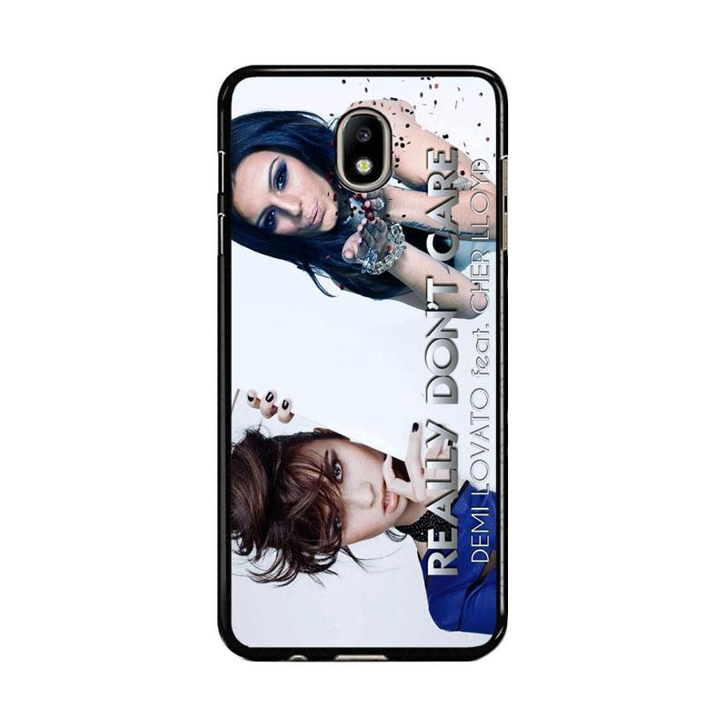 Flazzstore Demi Lovato Feat Cher Lloyd Really Dont Care Z0129 Custom Casing for Samsung Galaxy J7 Pro 2017