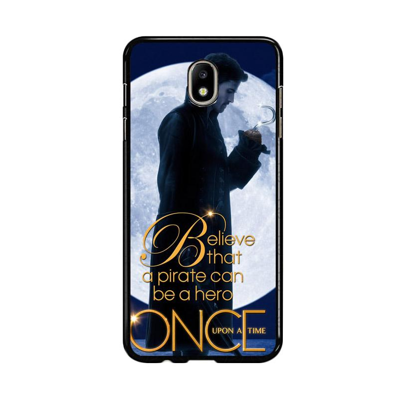 Flazzstore Once Upon A Time Captain Hook Believe F0542 Custom Casing for Samsung Galaxy J5 Pro 2017
