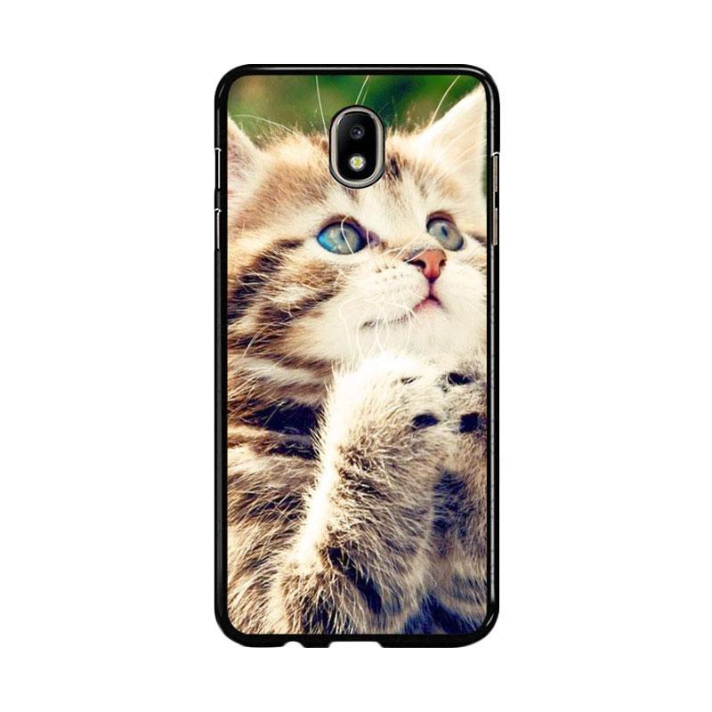 Flazzstore Prayer Cat Z0249 Custom Casing for Samsung Galaxy J7 Pro 2017