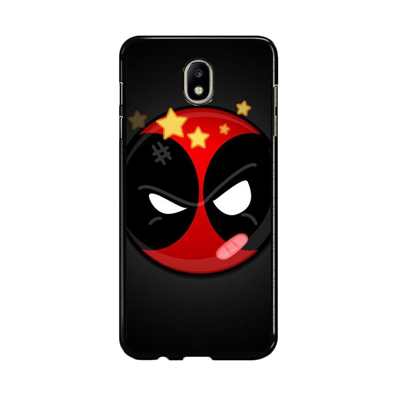Flazzstore Deadpool Superhero Logo Z0162 Custom Casing for Samsung Galaxy J5 Pro 2017